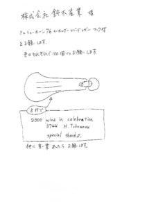 ミニシューホーン76キーホルダーオリジナル製作の手順1