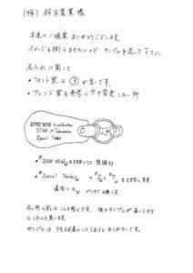 ミニシューホーン76キーホルダーオリジナル製作の手順4